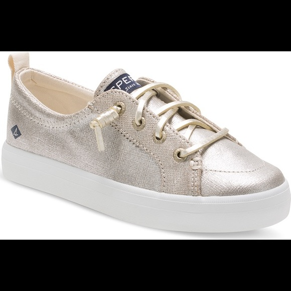Sperry Other - SPERRY | Top-Sider Crest Vibe Metallic Sneaker 2M